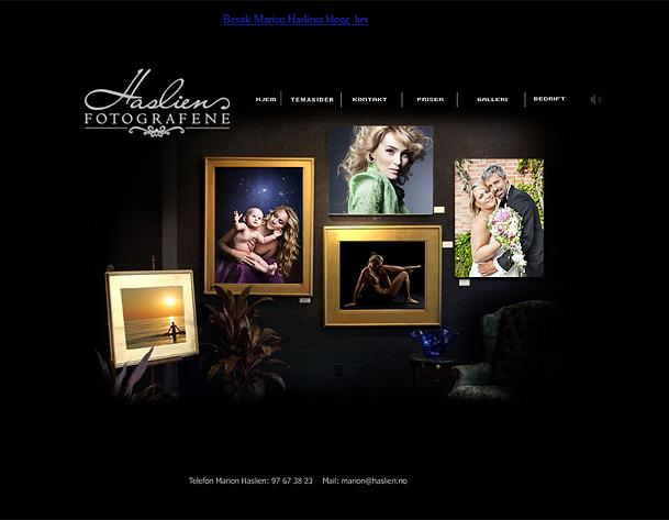 Vår hovednettside www.haslien.no