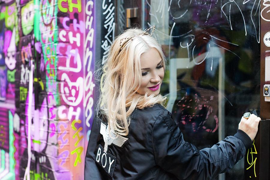 Lilia Gjerstad X Jeanett Haslien @ Millas boutique , Blå