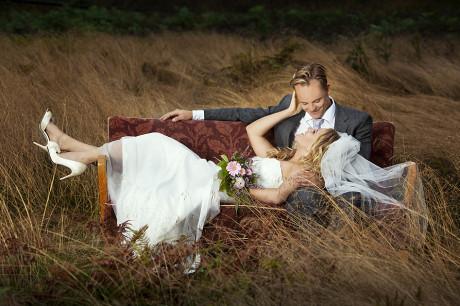 Bryllupsfoto vi tok her i Sarpsborg i fjor høst. Foto: Marion Haslien