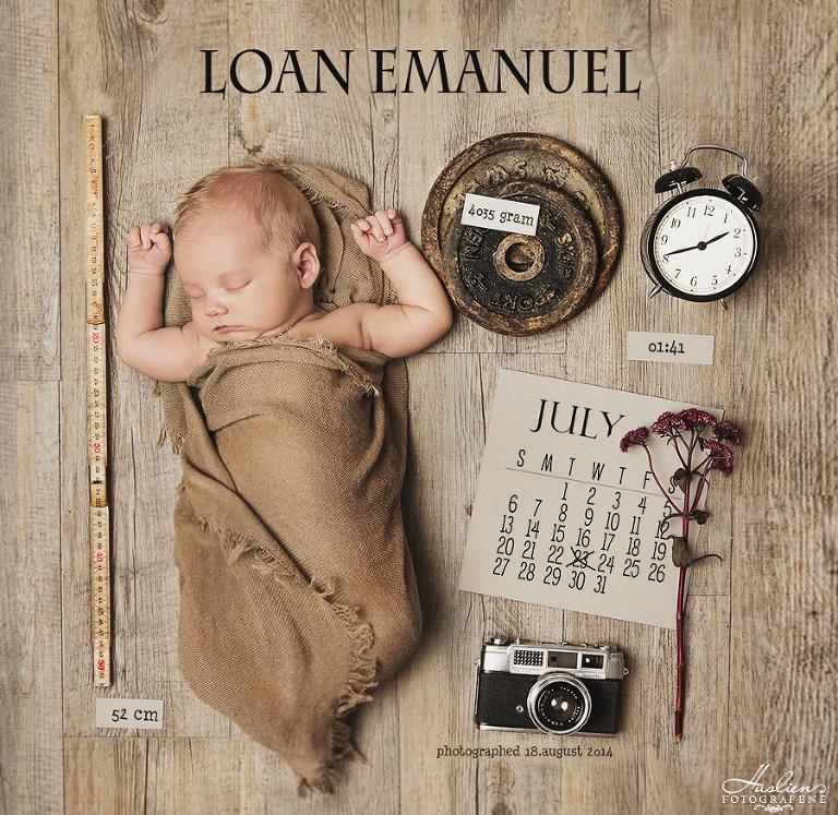 Vår egen lille gull-gutt Loan Emanuel.