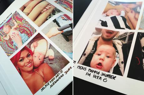 Selv vi som fotografer tar bilder med mobilkamera privat. Her har vår fotograf Jeanett laget seg en fotobok printet hos blurb. Det blir jo ikke helt som et profesjonelt album, men det holder i lange baner til et uhøytidelig privat album. Albumet inneholder små hverdagshendelser fra hennes Instagram-konto.