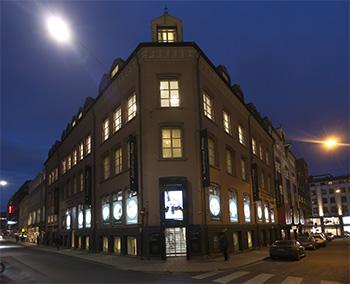 Workshopen ble holdt i Scandinavian Photo sine lokaler i Møllergata i Oslo.