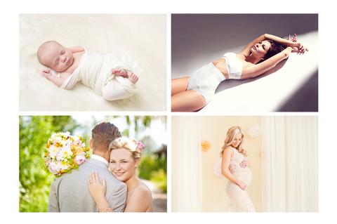 Våre temasider for bryllup, boudoir, gravid og nyfødt foto er nå fulle av nye bilder. Flere kommer.