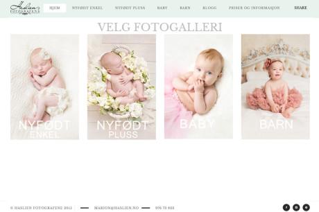 Nå har vi utvidet våre nyfødt foto galleri. Fotograf Haslien.