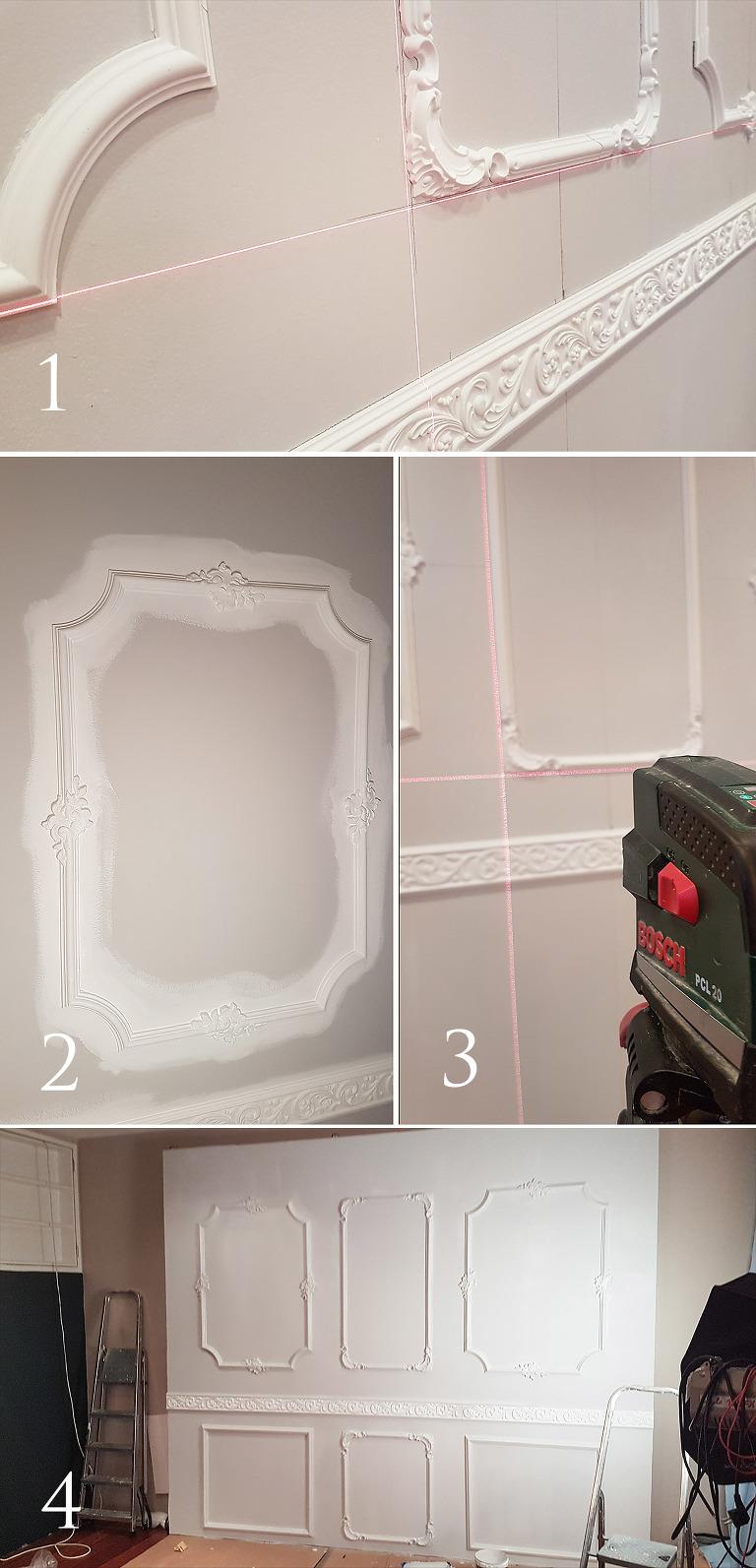 stukkatur-rosett-krystall-krone-male-gull-hvordan-sarpsborg-stukk-interiør-vegg-list-dekor-veggdekor-border-lage