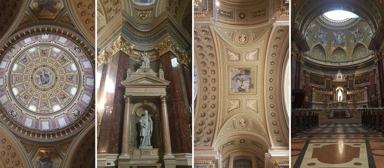 St. Stefans Basilika i Budapest i Ungarn er blant de vakreste kirkene jeg har besøkt.